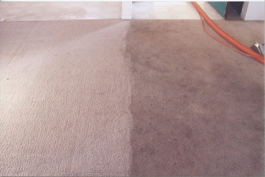 Carpet Cleaning Leeds - before and after