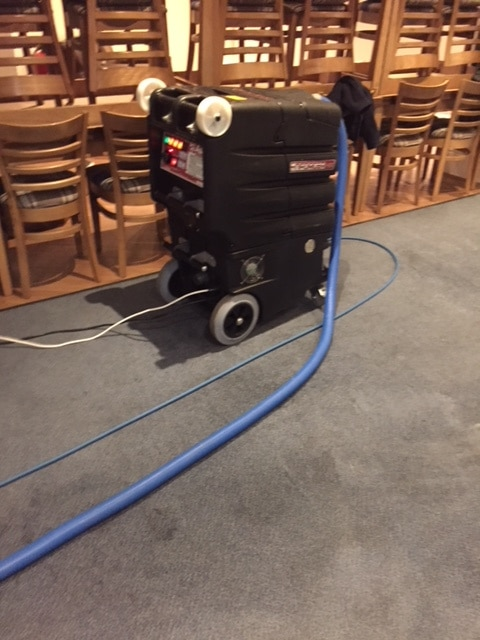 Carpet cleaning machine used by Carpet Matters - Carpet Cleaning Leeds